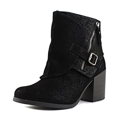 Daxx Women Round Toe Synthetic Ankle Boot