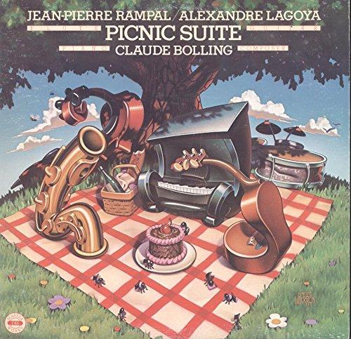 Claude Bolling / Jean-Pierre Rampal / Alexandre Lagoya: Picnic Suite LP VG++/NM