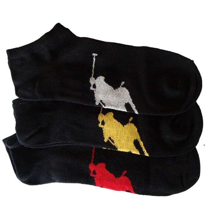 Ralph Lauren - Calcetines de deporte - Negro - Talla EU 39 a EU 45
