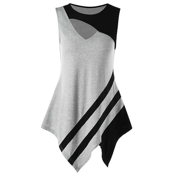 JYC Mode Damenbekleidung Farbabstimmung Hollow Asymmetrie Hollow ...