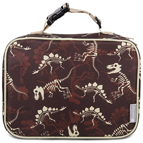 Insulated Lunch Box Sleeve - Securely Cover Your Bento Box (Fossils)