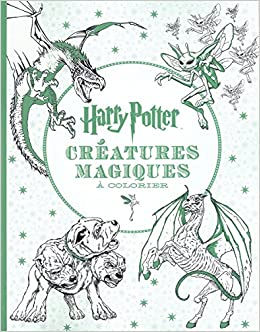 Coloriage Magique Harry Potter.Harry Potter Le Livre De Coloriage N 2 Creatures