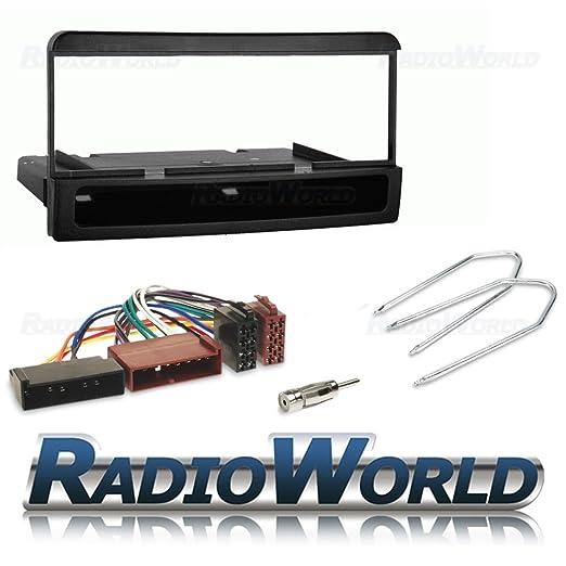 Ford Galaxy 2000-2006 Black Car Radio Stereo Facia Fascia Panel /& Aerial Kit