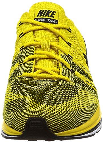de Bright Citronblackwhite Mixte Jaune Trainer Flyknit Chaussures Nike Adulte Gymnastique q1vtzW