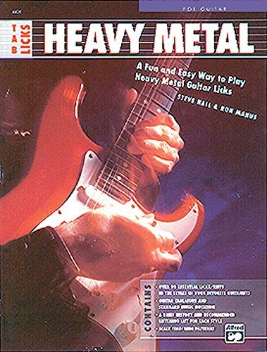 Tab Licks -- Heavy Metal: A Fun and Easy Way to Play Heavy Metal ...