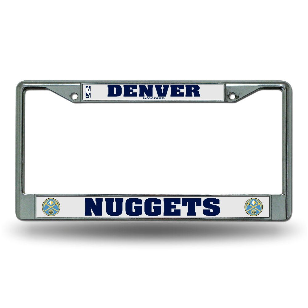 Rico License Plate Frame - Denver Nuggets