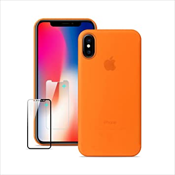 coque apple iphone x orange