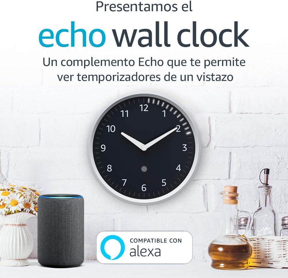 Echo Wall Clock - Consulta los temporizadores de un vistazo - Requiere un dispositivo Echo compatible