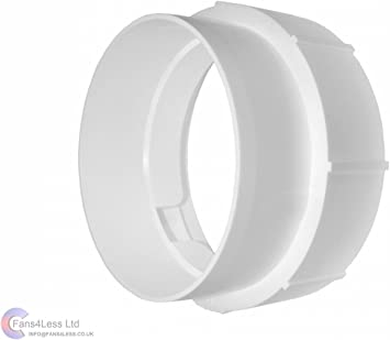 5 Duct Hose Round Adaptor KO150-29 Ducting Pipe Reducer 150mm 125mm Extractor Fan Tube Connector 6