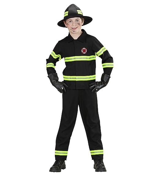 Feuerwehrmann Kostum Schwarz Kinder Feuerwehr Anzug Uniform Karneval