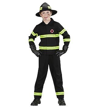 Kinder-Kostüm Feuerwehr-mann Kostüm Gr. L 158 11-13 Jahre Feuerwehr ...