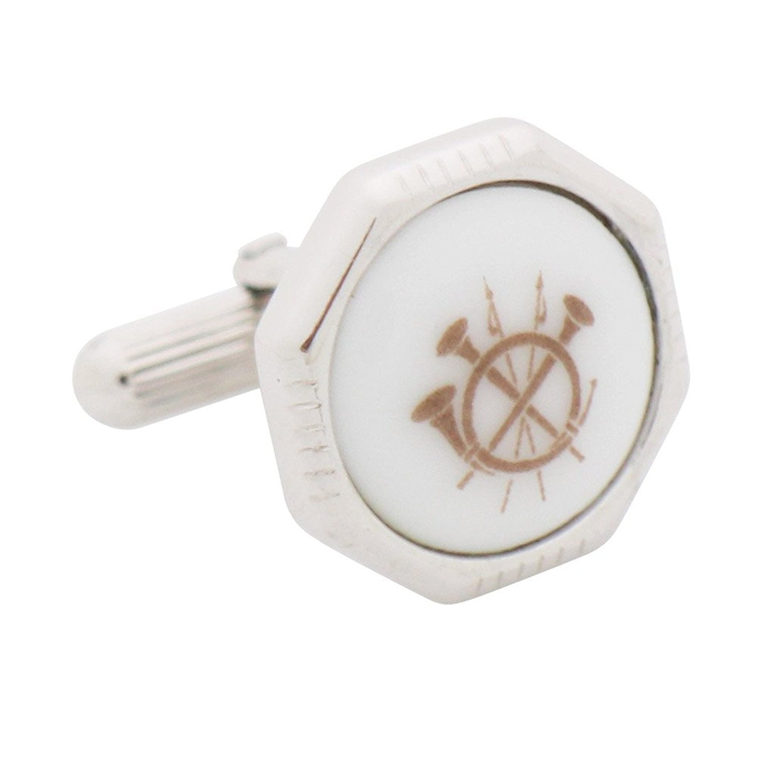Royal Copenhagen Spear and Horn Cufflinks by Royal Copenhagen