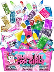 Slime Kit for Girls - 2 in 1 - DIY Slime...