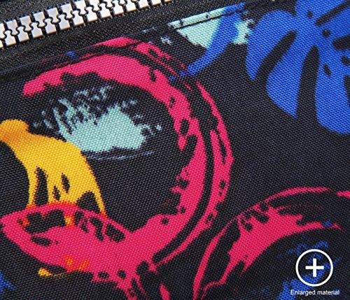 Femme Imperméable Sac Bandoulière 4 Banane Sac Multi Femme rose Cusual ABLE Messenger poches à L'eau 4 Rqp81qwxd5