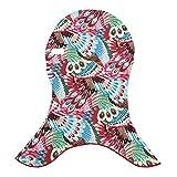 Colorido Multicolor Facekini Head Mask UV Sun Protection Swimming Beach Face Kini size One Size (7#)