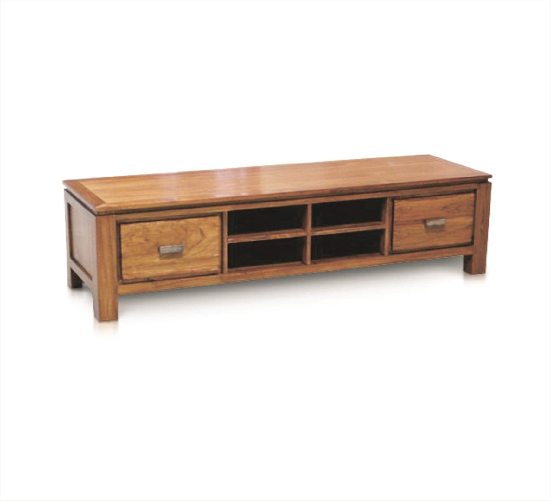 Amazon Com Nes Furniture Abc10153 Eden Tv Stand 59 Natural