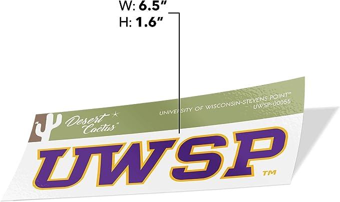 Sticker - 00059 University of Wisconsin Stevens Point UWSP Pointers NCAA Vinyl Decal Laptop Water Bottle Car Scrapbook