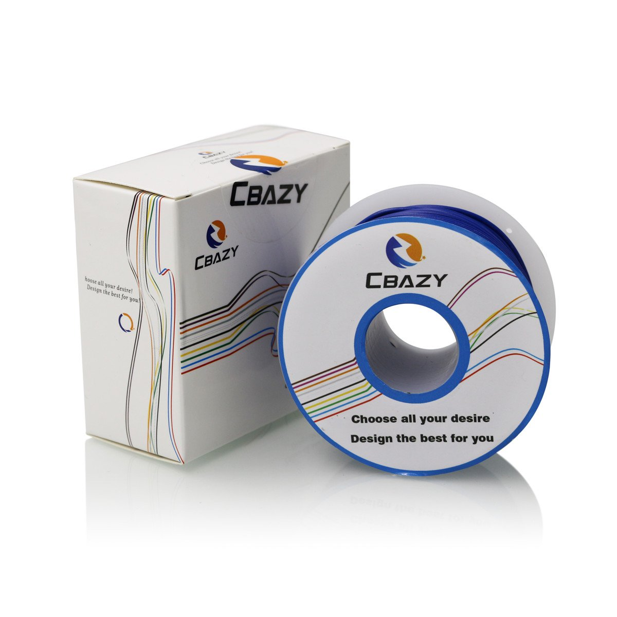 164 Feet CBAZY/™ Hook up Wire Stranded Wire 28 Gauge 1007 28AWG 50M PVC Electrical Wire Red