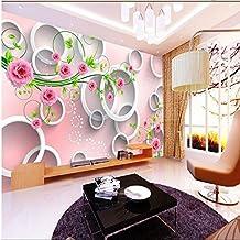 Sproud New Fashion 3D Mural Wallpaper Rose Vine Tv Backdrop Mural Wallpaper Living Room Mural Papel De Parede Infantil Mural 400cmX280cm