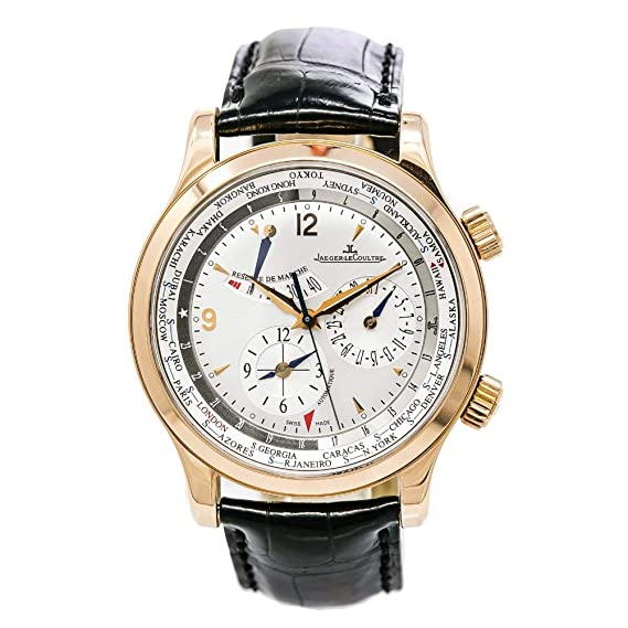 Jaeger LeCoultre Master mundo geográfica automatic-self-wind Mens Reloj 146.2.32.