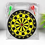 Wall of Dragon 10 inch Darts Plate Double-sided Flocking Dart Board Professional Suit Special Darts Disc