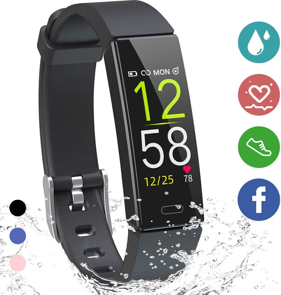 K-berho Fitness Tracker HR,Activity Tracker Watch with Heart Rate Monitor, Sleep Monitor