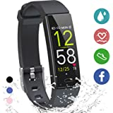 K-berho Fitness Tracker HR,Activity Tracker Watch with Heart Rate Monitor, Sleep Monitor, Smart Fitness Band with Step Counte