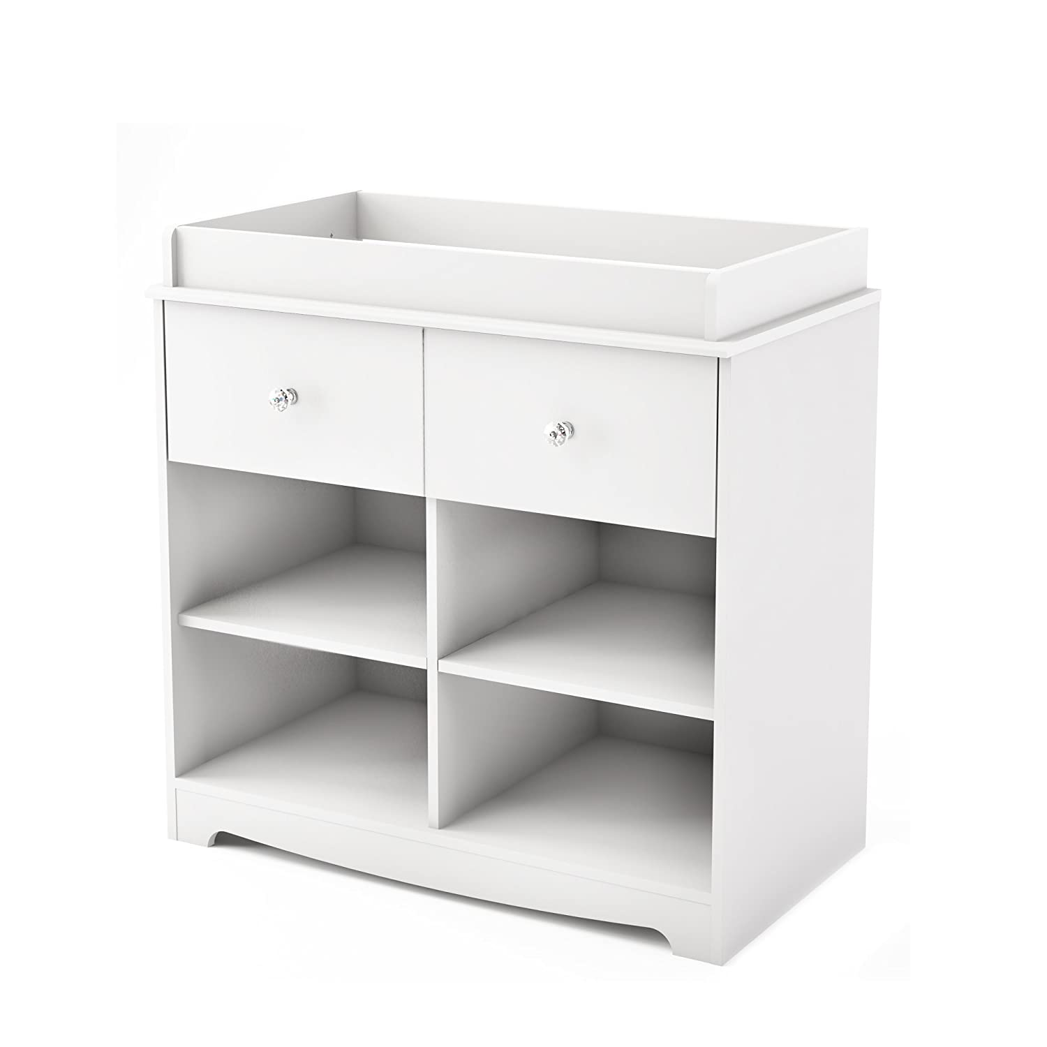 South Shore Furniture South Shore Little Teddy's Changing Table, Pure White 3180337
