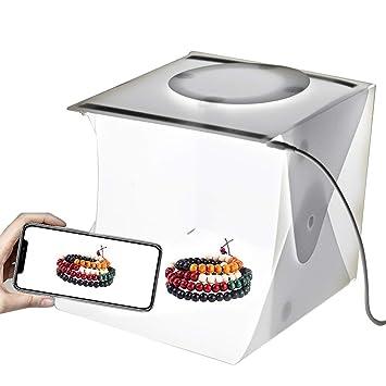 Estudio Fotográfico Carpa Mini Kit de caja de luz fotografía plegable para pequeños artículos de Modelo