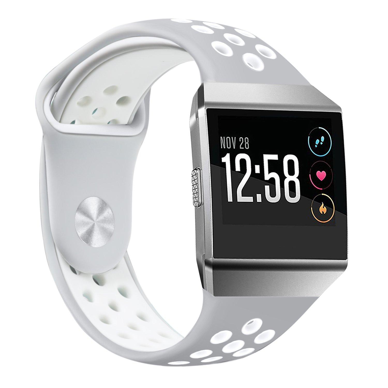 Amazon.com: Fitbit Ionic Smartwatch, Charcoal/Smoke Gray