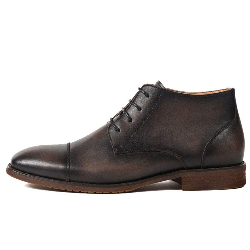 ZPJSZ Männer Jahreszeiten Jugend Spitze England Martin Stiefel Mode Lässig Weinlese Lederstiefel