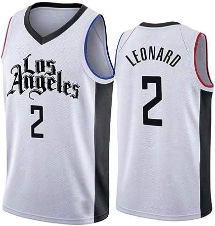 WZABC Camiseta De Baloncesto De La NBA Los Angeles Clippers # 2 ...