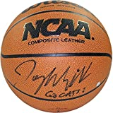 Steiner Sports Jay Wright Signed Wilson NCAA 2016 Championship White Panel Basketball w/ ''2016 National Champs'' Insc