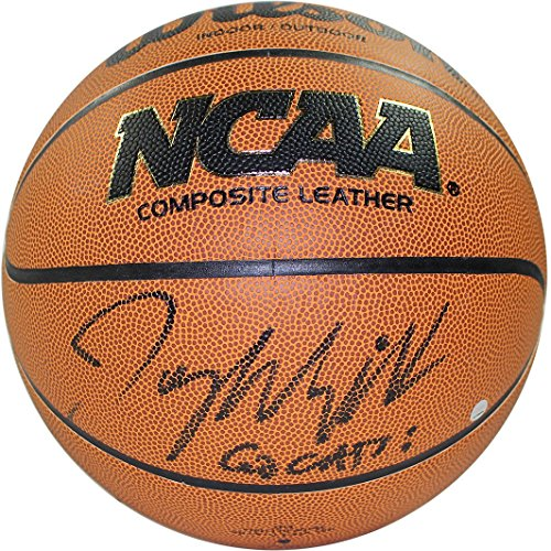 Steiner Sports Jay Wright Signed Wilson NCAA 2016 Championship White Panel Basketball w/ ''2016 National Champs'' Insc by Steiner Sports