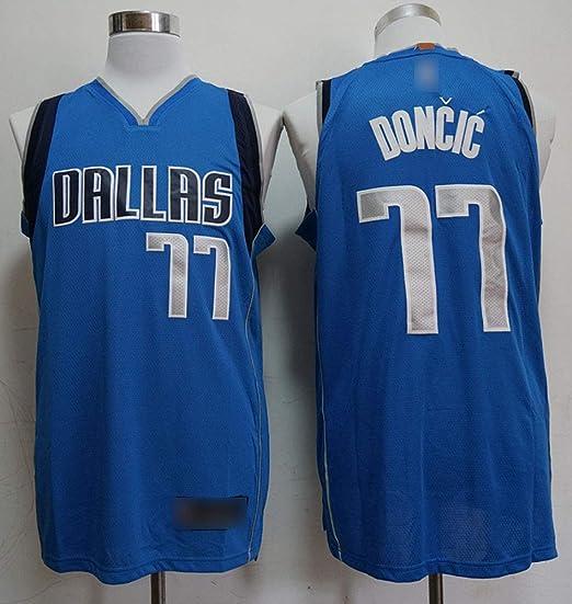 HSWU-DRESS Dallas Mavericks Luka Doncic # 77 Camiseta De ...