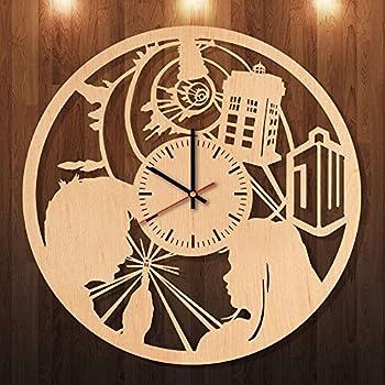 Amazon.com: Doctor Who Wall Clock Van Gogh Tardis on a Starry Night ...