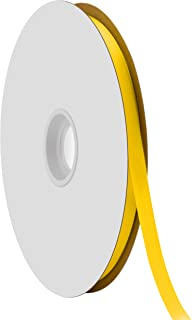 """product image for Offray Berwick 3/8"""" Single Face Satin Ribbon, Daffodil Yellow, 100 Yds"""