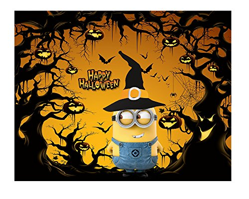 Amazing Cartierz Exclusive Minion Halloween Poster. Super High Quality (24 x 18) (Cool Halloween Posters)