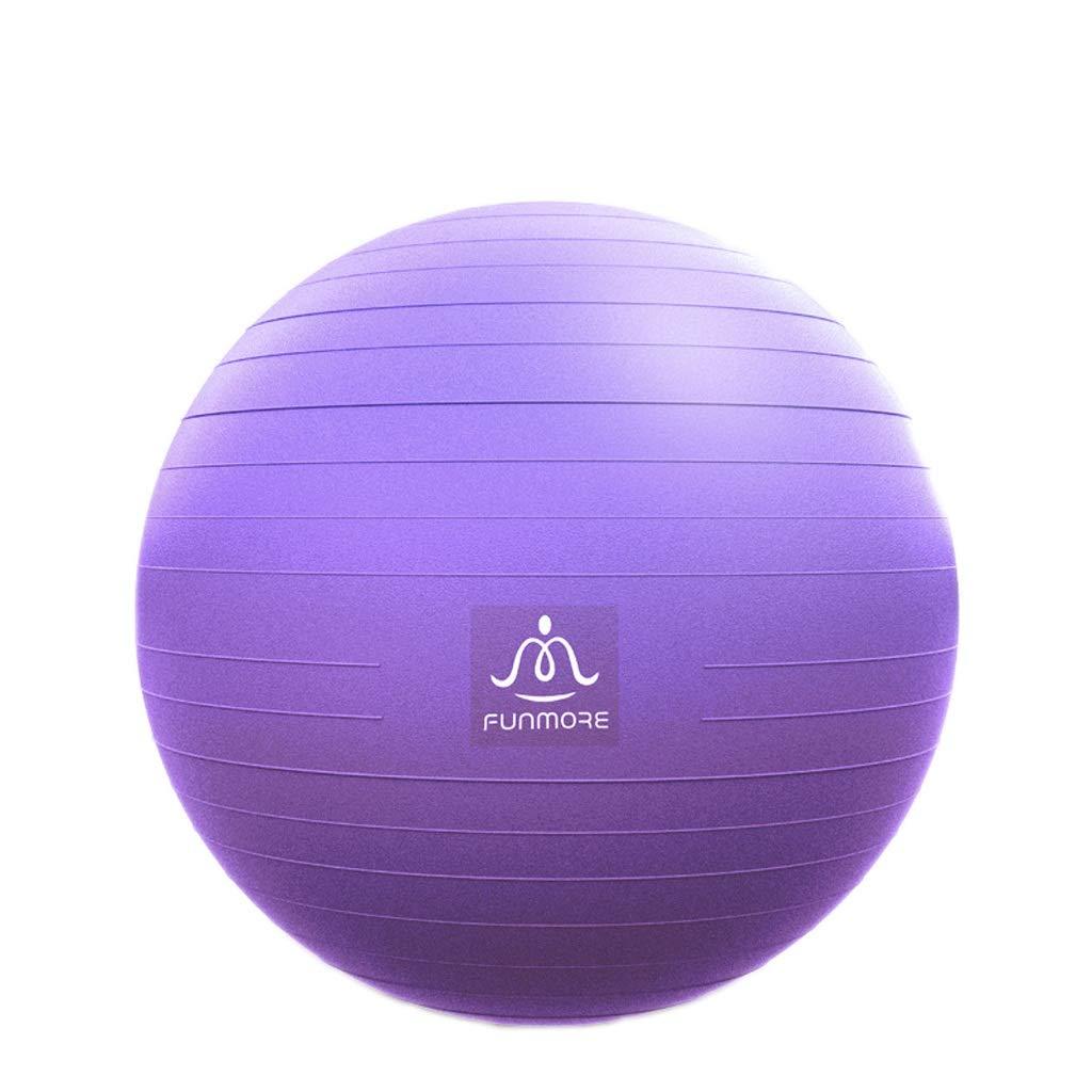 violet 75cm Yoga Ball Fitness Balle épaissie Anti-déflagrant Anti-déflagrant   Enfant Enceinte Enfant Livraison Balle Sage-Femme