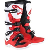 Alpinestars Tech 5 Boots-Red/White/Black-10