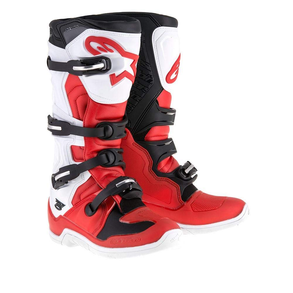 Alpinestars Tech-5 Boots (16) (Red/White/Black)