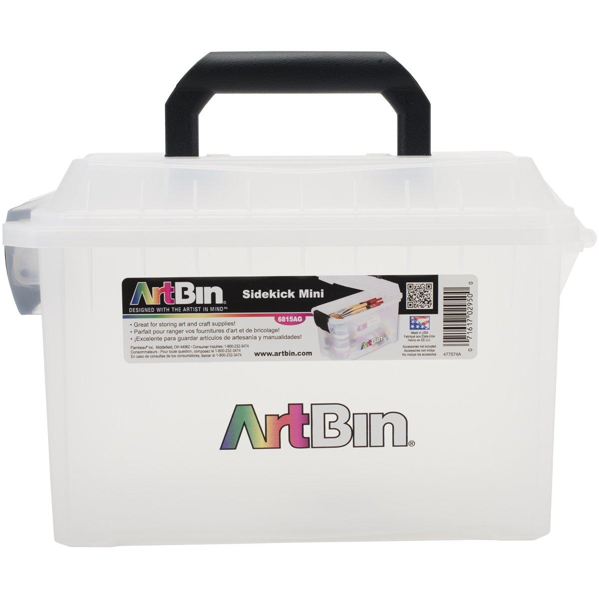 ArtBin Mini Sidekick Storage Box- Art/ Craft Supply Storage Container, 6815AG