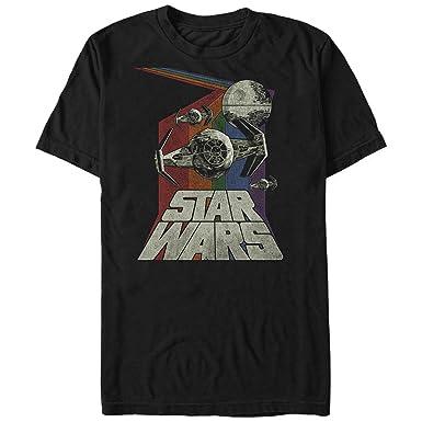 34644bfa6 Amazon.com: Star Wars Men's Retro Graphic T-Shirt: Clothing