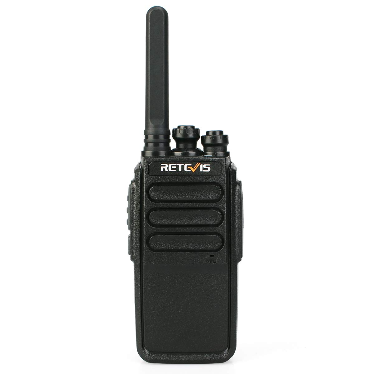 Retevis RT28 Walkie Talkies 10 Pack Two Way Radio Rechargeable UHF FRS 16CH VOX Emergency Alarm Security Long Range 2 Way Radios with USB Charger