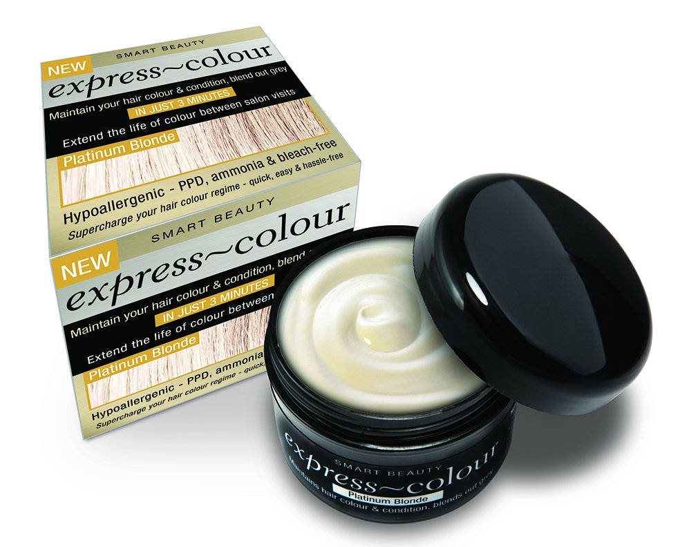 Platinum Blonde Hair Dye Colour Refresher & Intensive Conditioner PPD & Bleach Free SMART BEAUTY