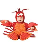 Dantiya Baby's Little Lobster Romper Play Costume