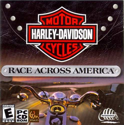Harley Davidson: Race Across America (Jewel Case) - PC (Harley Davidson Video Game)