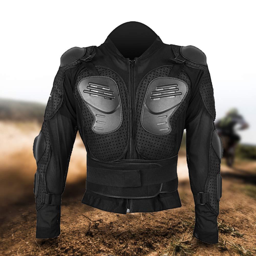 Veste de Protection de Corps Complet Chemise de Moto L/ég/ère avec Coque en Caoutchouc Modifi/ée XL lahomie Armure de Moto de Protection