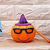 CHCUAN Halloween Sound Control Pumpkin LED Lamp Jack O Lantern Fun Handheld Kids Children Light Toy