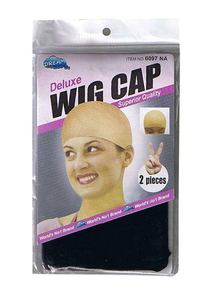 Wig Cap (2 Pack) (Black) LedChoice